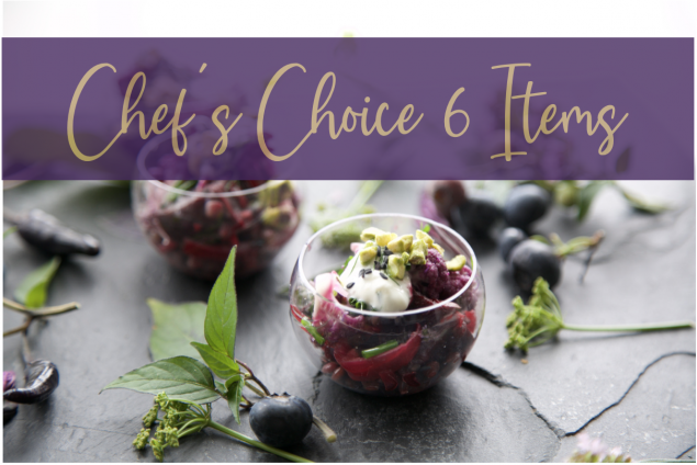 Chefs Choice Lunch 6 Items + 1 Free