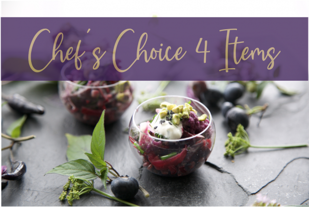 Chefs Choice Lunch 4 items + 1 Free