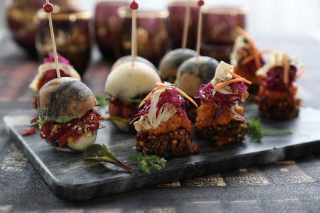 Superfood fritters spiced carrot parsnip crisp