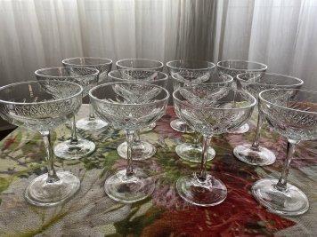 Glassware - Cocktail saucers (12)