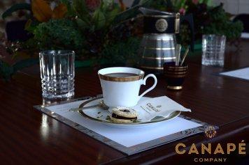 Fresh Italian coffee, Harney & Sons tea