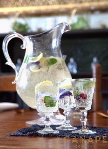 Sparkling elderflower w/ lime & mint 2 litres jugs
