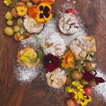 Raspberry Lemon Friands M/A tea