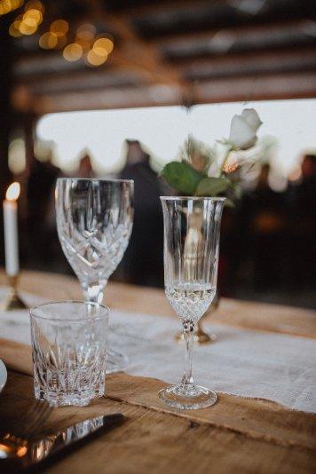 Glassware - Vintage Wine & Flutes (12)